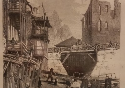 "Filmer, J. - ""Scene On The Canal"", $70, Engraving"