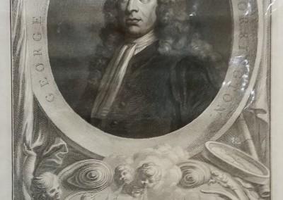 """""""Houbraken Portraits 1"""", Ca 1813, $80, Etching"""
