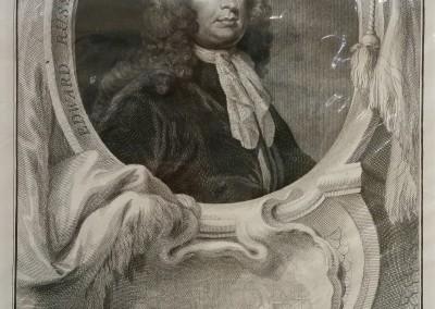 """""""Houbraken Portraits 4"""", Ca 1813, $80, Etching"""