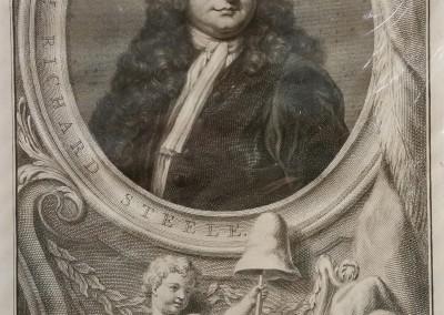 """""""Houbraken Portraits 5"""", Ca 1813, $80, Etching"""