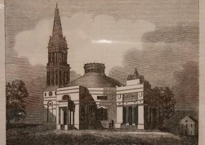 "Unknown - ""Monumental Church, At Richmond"", Ca 1850, $50, Engraving"