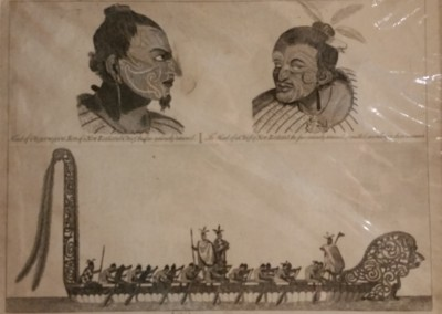 "Unknown - ""Natives Of New Zealand"", Ca 1790, $200, Engraving"