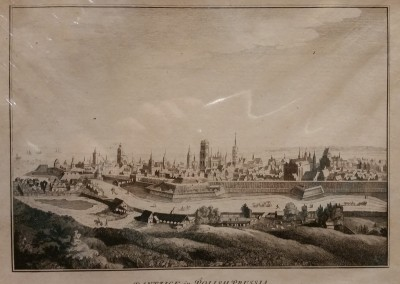 "Unknown - ""Polish Prussia"", Ca 1700, Engraving, $130"