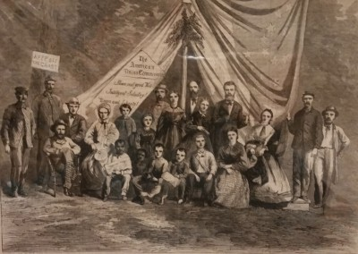 "Unknown - ""Tent Of The Union"", Ca 1865, $50, Engraving"