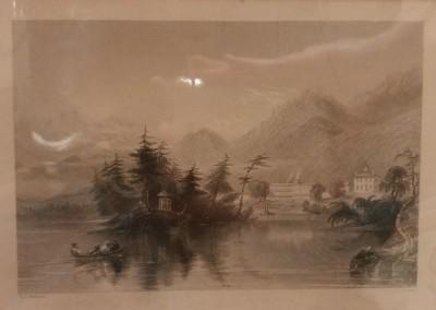"W.H. Bartlett - ""Caldwell"",  $100, Engraving"