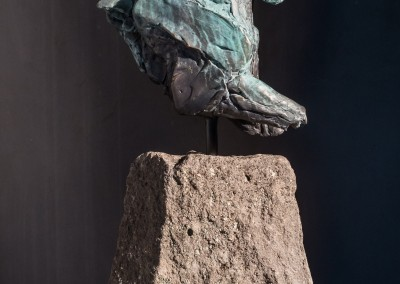 "Stephanie Revennaugh - ""Olympia"", 24x9x4, Bronze"