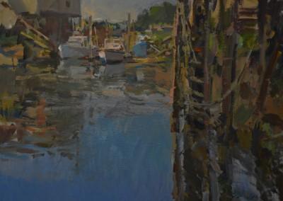 "Charles Movalli - ""Midsummer"", 30x40, Acrylic"