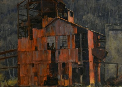 "Stapleton Kearns - ""Old Sawmill"", 24x18, Oil"