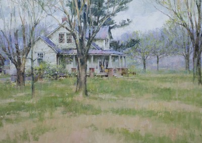 "John Michael Carter - ""West Virginia Spring"", 36x28, Oil, Sold"