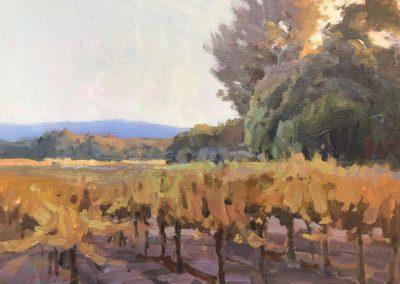 "John Poon - ""Evening"", 12x16, acrylic"